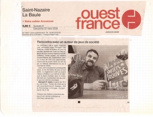 Ouest France - Philippe des Pallières