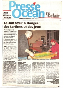 Presse Océan - La naissance du JOK'coeur