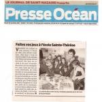 Presse Océan - Jouer à l'école